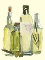 Olive Oil Set I Framed Print