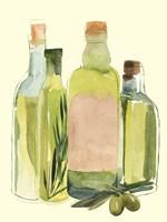 Olive Oil Set II Framed Print