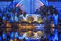 Botanical Building Reflections Fine Art Print