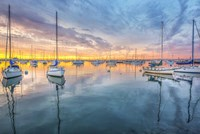 A Perfectly Calm Sunset, San Diego Fine Art Print