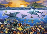 Undersea League Fine Art Print