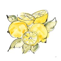 Lemon Still Life IV Framed Print
