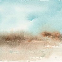 Desert Landscape II Framed Print