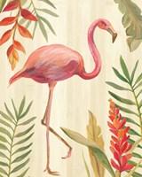 Tropical Garden IX Framed Print