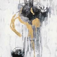 Golden Rain I Framed Print