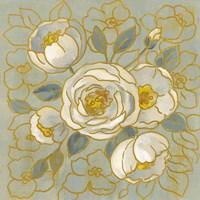 Sage Floral II Framed Print