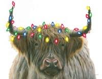 Holiday Highlander Crop Fine Art Print