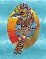 Kerrie Kookaburra Fine Art Print