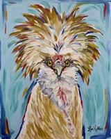 Chicken Lola Polish Chicken Fine Art Print