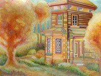 Summer Cabin Fine Art Print