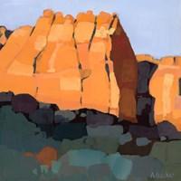 Red Rock Fine Art Print