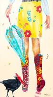 Rainy Day Companions Fine Art Print