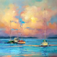 After The Sailing Day Fine Art Print