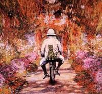 Monet Cat Fine Art Print