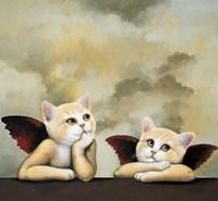 Raphael Cat Fine Art Print
