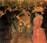 Toulouse-Lautrec Dog Fine Art Print