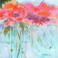 Heart Bouquet Composition Fine Art Print