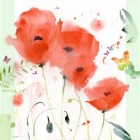 Poppies Chinoise Fine Art Print