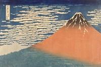 Fine Wind, Clear Morning (Gaifu Kaisei), 1832 Fine Art Print