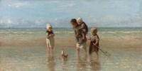 Children of the Sea, 1872 Fine Art Print