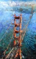 Golden Gate Sun Fine Art Print
