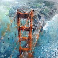 Over Golden Gate Fine Art Print