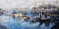 San Francisco Wharf Fine Art Print