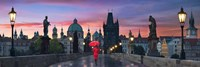 Dawn at Charles Bridge Fine Art Print