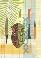 Tiki Warrior No. 1 Fine Art Print