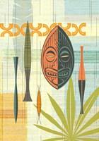 Tiki Warrior No. 2 Fine Art Print