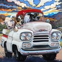 Cattle Drive Fine Art Print