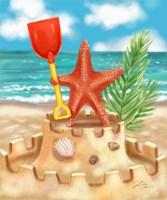 Beach Friends - Starfish Fine Art Print
