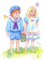 Jack And Jill Fine Art Print