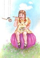 Little Miss Muffet Fine Art Print