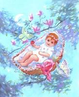 Rock A Bye Baby Fine Art Print