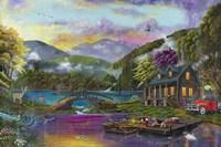 Paradise Lake Fine Art Print