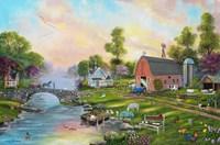 Riverview Farm Fine Art Print