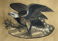 Antique Eagle Fine Art Print