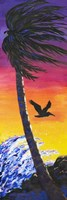Pelican Sunset Fine Art Print