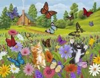 Butterfly Meadow Fine Art Print