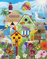 Birdhouse Beach Fine Art Print