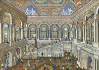 Library Of Congress, Washington DC Fine Art Print