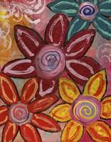 Bold Flowers Fine Art Print