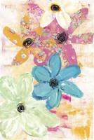 Cotton Candy Floral Fine Art Print