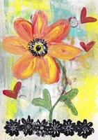 Orange Flower Fine Art Print
