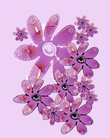 Pink Flower Power Fine Art Print