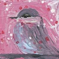 Chickadee Bird 19 Fine Art Print