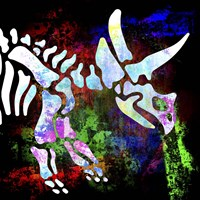 Dino Bones 4 Fine Art Print