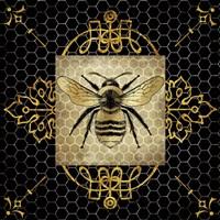 Golden Honey Bee 1 Fine Art Print