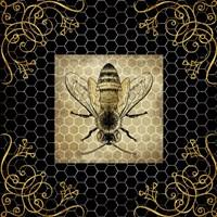 Golden Honey Bee 2 Fine Art Print